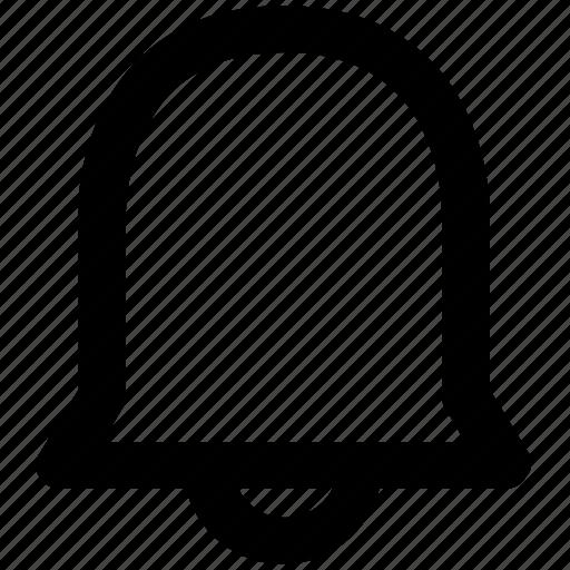 alert, bell, ding bell, hand bell, notification, ring, school bell icon