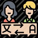 exchange, foreign, students, language, translator