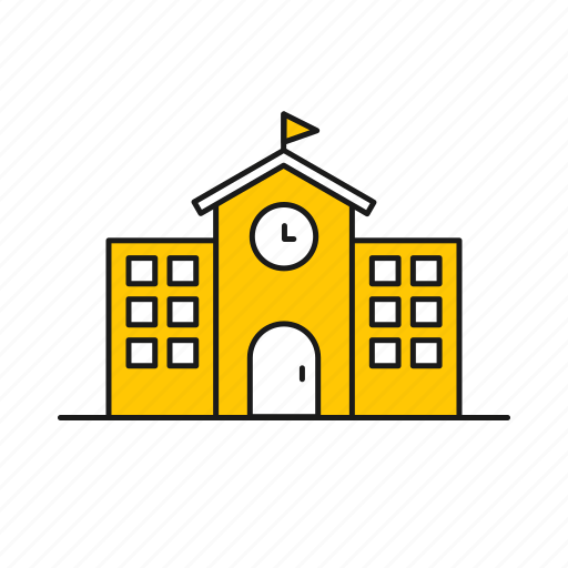 building, college, house, library, school, university icon