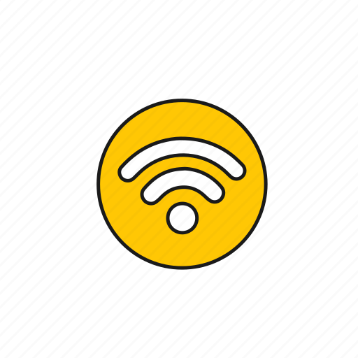 connection, internet, media, network, signal, wifi, wireless icon