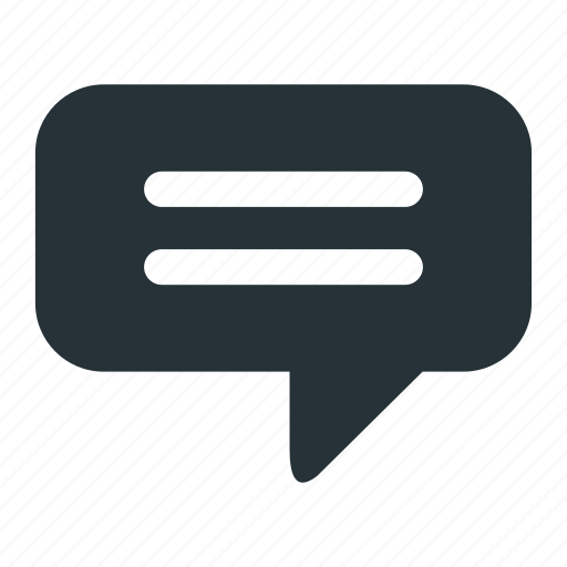dialog, mail, message, notification, speak icon