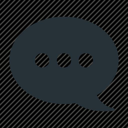 bubble, discussion, message, quote, speak, speech, talk icon