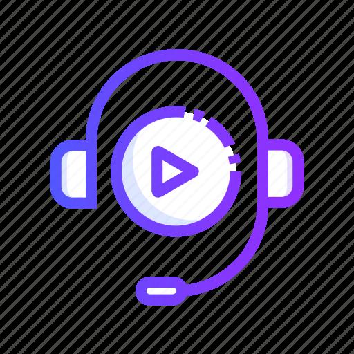 Audio, course, media, multimedia, speaker icon - Download on Iconfinder