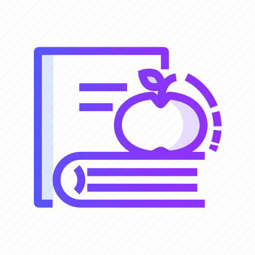Back, school, book, education icon - Download on Iconfinder