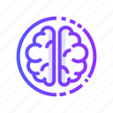 brain, brainstorming, idea, mind, thinking icon