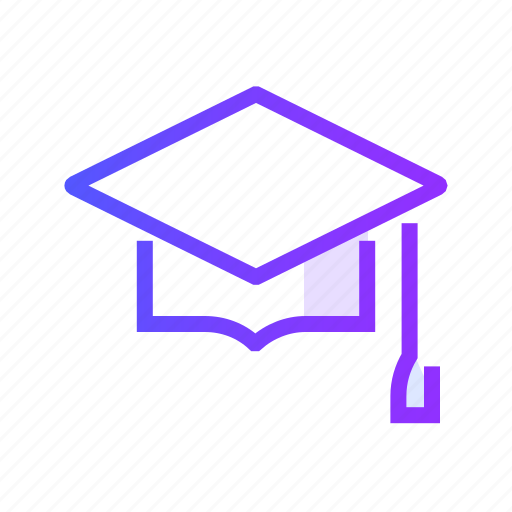 cap, education, graduate, graduation icon