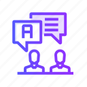 class, community, group, team, users icon