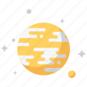astronomy, cosmos, discover, planet, research, science, space icon