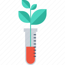 biology, education, experiment, laboratory, plant, research, science icon