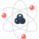 atom, energy, experiment, nuclear, physics, power, research, science icon