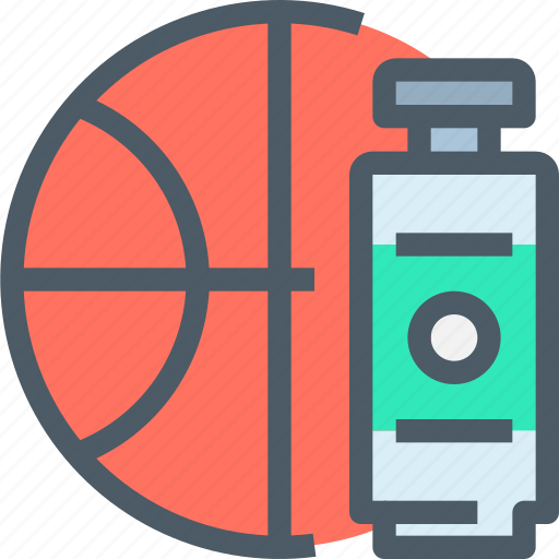 basketball, education, learning, school, sport, water icon