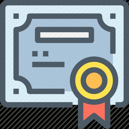 certificate, education, learn, learning, paper, school, university icon
