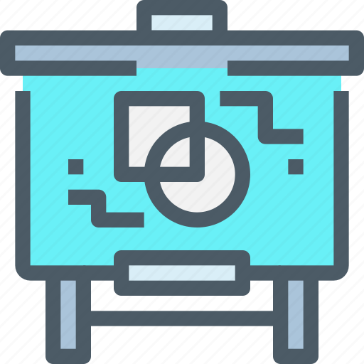 Art, education, design, learning, presentation icon