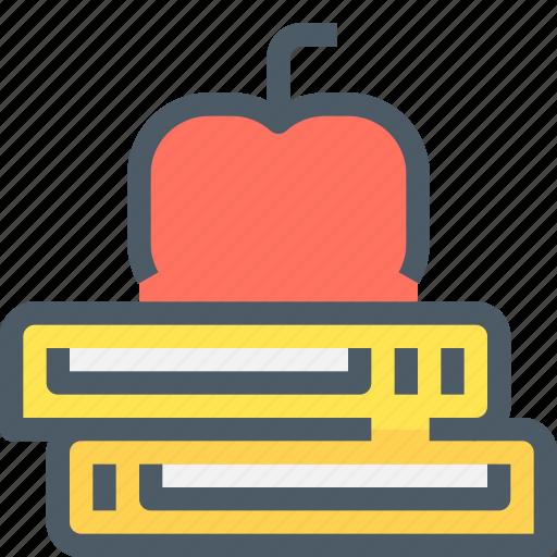 School, education, apple, learning, learn icon - Download