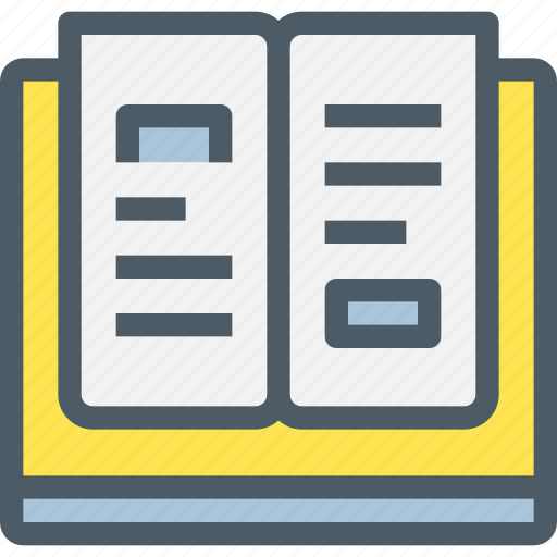 book, education, learn, learning, school icon