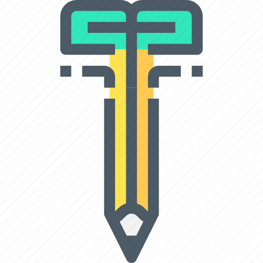 creativity, education, growth, learning, pencil, thinking icon