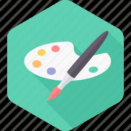 art, brush, drawing, paint, paint brush, paintbrush, painting icon