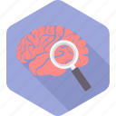 brain, brainwash, idea, mind, scan, scanning, search icon