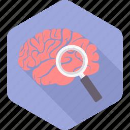 brain, brainwash, idea, mind, scan, scanning, search icon