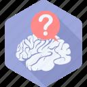 brain, faq, help, idea, info, information, question