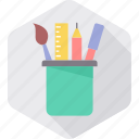 drawing, pen, pencil, stationary, stationery, tool, tools icon