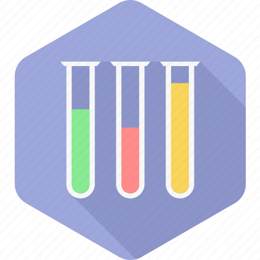 chemistry, flask, sample, science, test, test tube, tube icon
