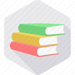 book, books, education, knowledge, learning, library, study icon