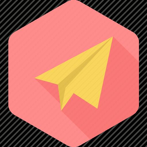 airplane, paper, paper plane, plane, relay, send icon