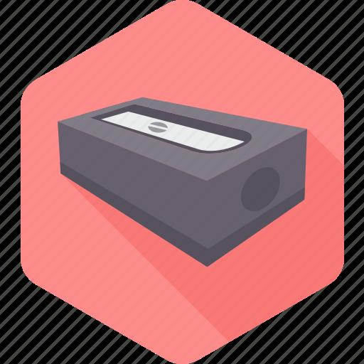 school, sharp, sharpner, stationary, tool icon