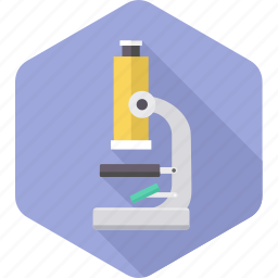 biology, chemistry, lab, laboratory, medical, microscope, science icon