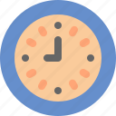 clock, minute, school, time icon