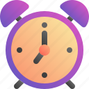 alarm, clock, notification