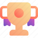 achievement, cup, goal, medal, win icon