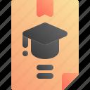 diploma, education, school, university