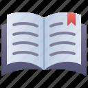 book, bookmark, reading