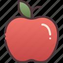 apple, gravity, physics icon