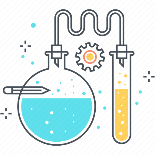 analysis, chemistry, education, lesson, science, test, tube icon
