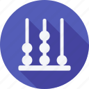 abacus, education, reading, school, schooling, student, study icon