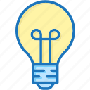 lamp, light, light bulb icon