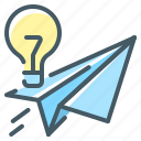 bulb, idea, lamp, sharing, sharing idea icon