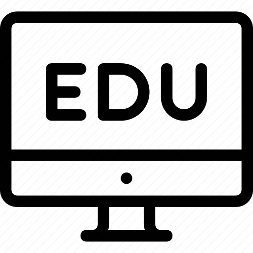 computer, device, education, technology icon