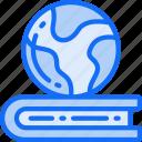 education, globe, learning, smart, teaching, world icon