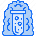 education, experiments, explosions, science, testing icon