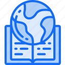 book, education, global, reading, research, world icon