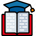 book, education, learning, reading, smart, teaching icon