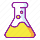 beaker, chemistry, flask, lab icon
