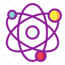 atom, chemistry, energy, science icon