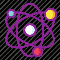 atom, chemistry, energy, science icon