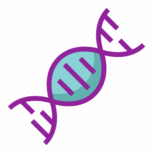chemistry, dna, genetics, genome, molecule, science icon