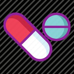 chemistry, drugs, medicine, pills, tablets icon